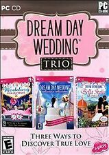 Dream Day Wedding Trio Girls PC Computer Video 3-Game Pack Viva Las Vegas Italia