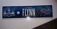 JONNY FLYNN- 2010 NBA ALL STAR LOCKER ROOM NAMEPLATE - signed