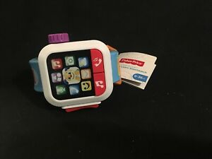 NEW! Fisher-Price Laugh & Learn Time to Smartwatch, Musical Baby Toy