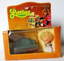 """Mini poupée +mobilier vintage """"the LITTLES""""  (Hedy )  Mattel"""