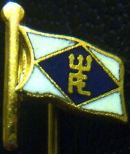 (No3791) German stickpin badge adter WW2 FE yacht club ? ENAMELLED flag