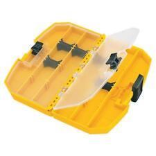 Dewalt 8.88 inch Portable Yellow Plastic Tool Box Small Parts Storage Organizer