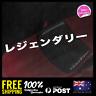 Legendary Japanese Katakana 590x63mm Sticker Decal Vinyl For JDM Window Car