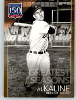 2019 Topps Series 2 150 Years Greatest Seasons GS-17 Gold /50 AL KALINE Tigers