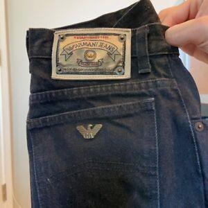 Vintage Giorgio Armani Black Jeans