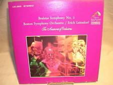 Brahms Symphony No. 2 - Boston Symphony Orchestra LSC-2809 RCA Red Seal