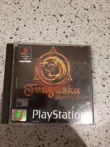 PS1 Game, Tunguska Legend of Faith, Black Label, Complete Tested
