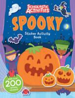 Spooky Sticker Activity Book (Scholastic Activities), , New, Book