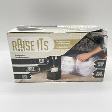 RAISE ITS Bed / Furniture Risers  CLEAR 1x4x4 (8 count) New BOX