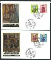 Allemagne - RFA - 03/10/1968 FDC - Poupées de Nuremberg