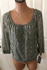 inc international concepts xl top New With Tags Green