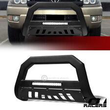 For 2003-2009 Toyota 4Runner/GX470 Matte Black AVT Aluminum LED Bull Bar Guard