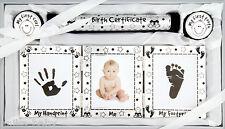 New Baby Gift Christening Present Keepsake Set Boy Girl - Silver Pink Blue Gold