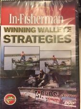NEW In-Fisherman Winning Walleye Strategies fishing DVD VIDEO w/ Scott Glorvigen
