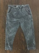 edfc4d83 Zara baby boy blue with palm leaves print pant size 2/3