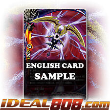 Buddyfight x 1 Sickle of Slaughter, Gale Haken [X-BT02/0109EN SECRET (FOIL)] Eng