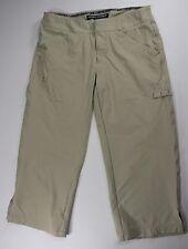 "Under Armour Performance Beige Straight Leg Capri Pants Inseam 20"" Size 2"
