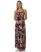BNWT BILLABONG LADIES 2017 LULLABYE MAXI DRESS (BLACK SANDS) SIZE 10 RRP $100