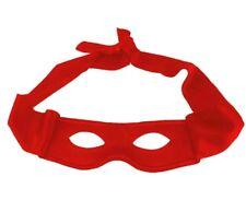 RED Bandit Zorro Masked Man Eye Mask Theme Party Masquerade Costume Halloween