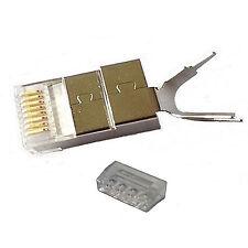 Sunnytech CAT7 23AWG RJ45 Ethernet Module Plug (60 pack)