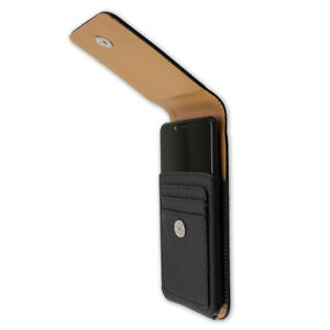 caseroxx Outdoor Case for Xiaomi Pocophone F1 in black made of genuine leather