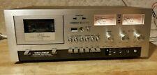 Serviced Vintage Akai Gxc-730D Stereo Cassette Deck / new lights & belts + Demo