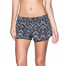 Maaji Sz M 12-14 Reversible Ink Shorts Black White Grey $117 AU