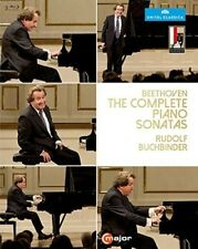 Rudolph Buchbinder - Beethoven: The Complete Piano Sonatas [New Blu-ray]