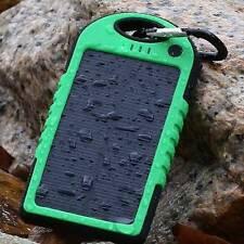 5000mAh Dual USB Portable Waterproof Solar Charger External Battery Power Bank Z