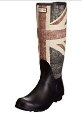 Hunter Original Brit, women's Rain Boots, Blu (Dark Navy), 3 UK (35/36 UE)