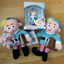 Herbie the Elf - 2 Stuffed Plushes, 1 Ornament
