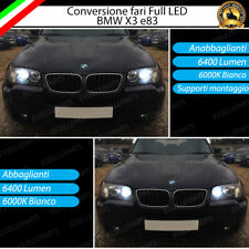 KIT LED BMW X3 E83 ANABBAGLIANTI ABBAGLIANTI CANBUS 3.0 BIANCO NO AVARIA LUCI