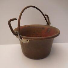 Chaudron cuivre bronze authentique vintage art-déco antiquité France