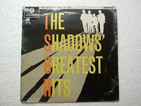 THE SHADOWS GREATEST HITS RARE LP record vinyl INDIA INDIAN