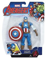 Marvel Avengers Capitan America 15.2Cm BASE ACTION FIGURE NUOVO