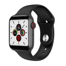 Smartwatch Bluetooth Uhr W35 2.5D HD Display Pulsmesser Wasserdicht iOS Android