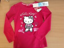 Hello Kitty Pink T Shirt - Age 6 - Brand New with Labels