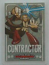 Star Wars Celebration Europe show pass 2007 Contractor