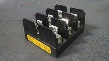 **SET OF 2** BUSS BLOCK FUSE HOLDERS 30 AMP // 600V  MODEL: J60030-3CR