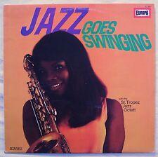 ST TROPEZ JAZZ OCTET Jazz Goes Swinging! ORIG 1969 EUROPA LP Ace Jazz