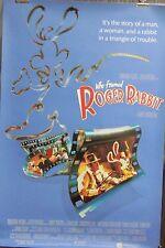 Who Framed Roger Rabbit Original Single Sided Movie Poster B Blue Bob Hoskins