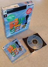 Microsoft Plus! 98 Companion for Windows 98 (1998) with Original Box & CD-ROM