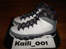 Girls Nike Air Jordan 9 Retro (GS) Size 3.5Y White Imperial Purple 537736-109 B