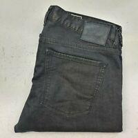 Men's Quiksilver Daniel Garcia Skateboarding Collection Jeans SZ 36 Black/Brown