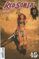 RED SONJA #25 COSPLAY PHOTO INCENTIVE VARIANT COVER E - DYNAMITE