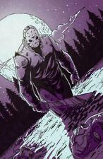 Crystal Lake Jason Friday the 13th comic art signed 11x17 print Rod Jacobsen