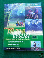 The essential touring cyclist. - Bicycle bike seat pannier commuting book   /pc