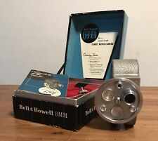 VINTAGE BELL & HOWELL 134-TA 8MM MOVIE CAMERA / BOX - WORK