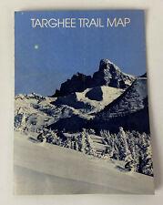 vintage GRAND TARGHEE SKI RESORT TRAIL MAP
