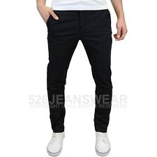 Jack & Jones Men's Chino Trousers Chinos Business Pants Modern Multi Color Mix Black W34 L32
